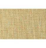 Grof weefsel W97 - beige / turquoise
