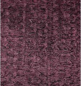 Fourrure W89 - noir / violet