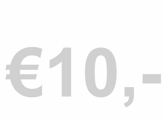 KOOPJES! €10,-