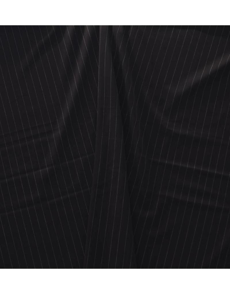 Terlenka Nadelstreifen 1029 - schwarz