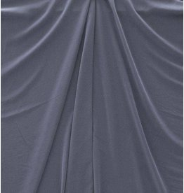 Washed Satin Mat FM6 - denimblauw