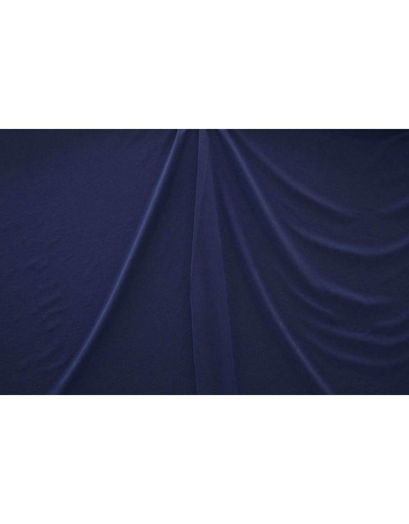 Washed Satin Mat FM8 - kobaltblauw