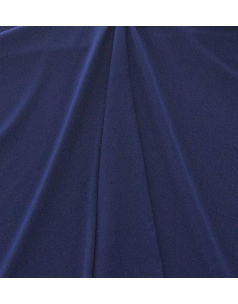 Gabardine Terlenka Stretch (zwaar) WT79 - kobalt blauw