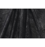 Kunstleder Vintage IL13 - schwarz metallic
