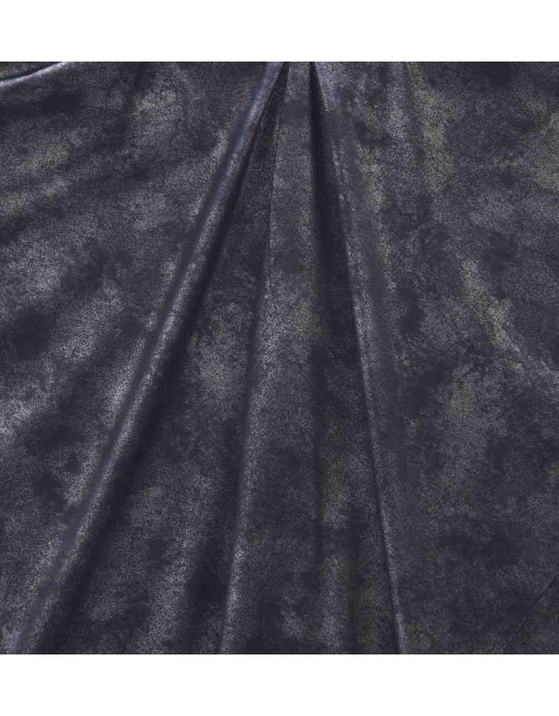 Imitatie Leder Vintage IL28 - donkerblauw metallic