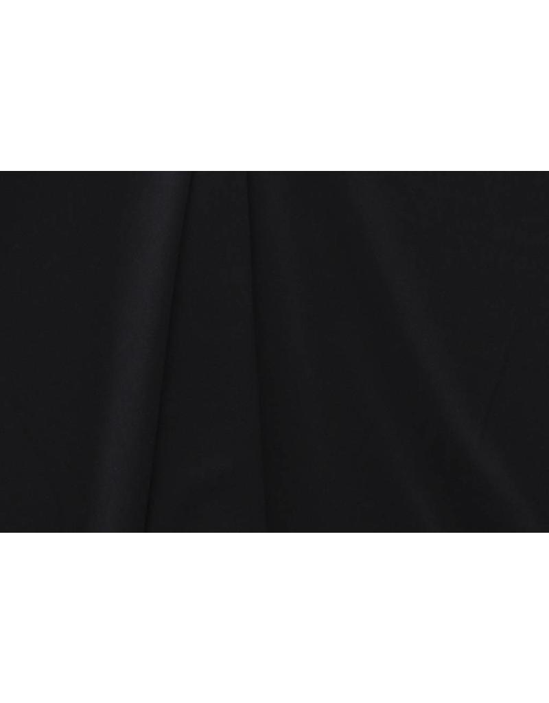 Gabardine Terlenka Stretch (schwer) WT60 - Schwarz