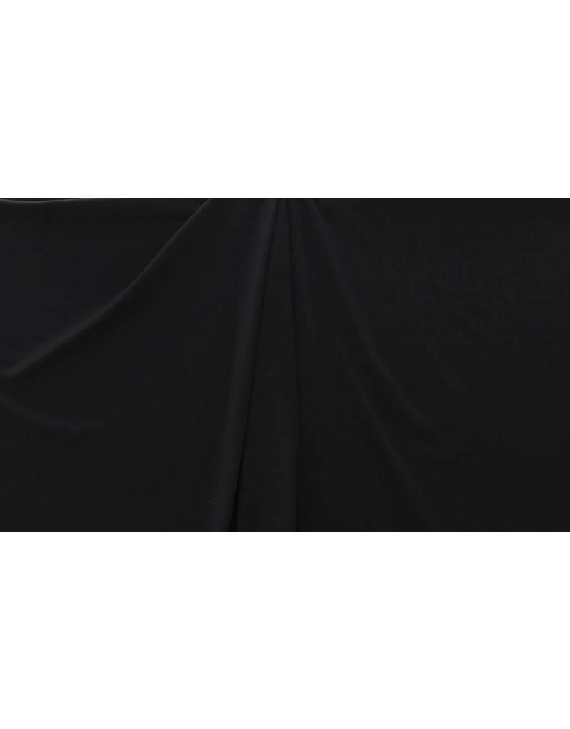 Gabardine Terlenka Stretch (zwaar) WT60 - Zwart