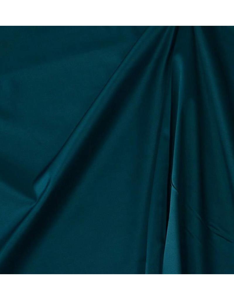 Coton brillant Uni S03 - pétrole