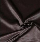 Coton brillant Uni S8 - brun chocolat