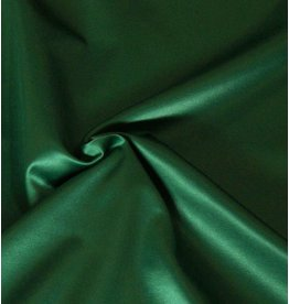 Glänzende Baumwolle Uni S9 - smaragdgrün