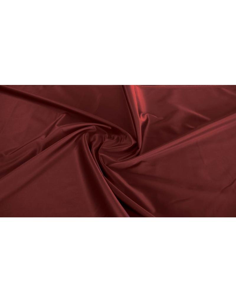 Coton brillant Uni S21 - rouge foncé