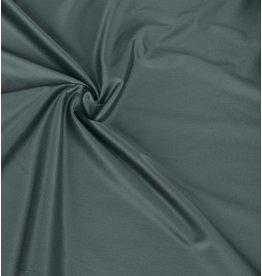 Glossy Cotton Uni S24 - green / grey