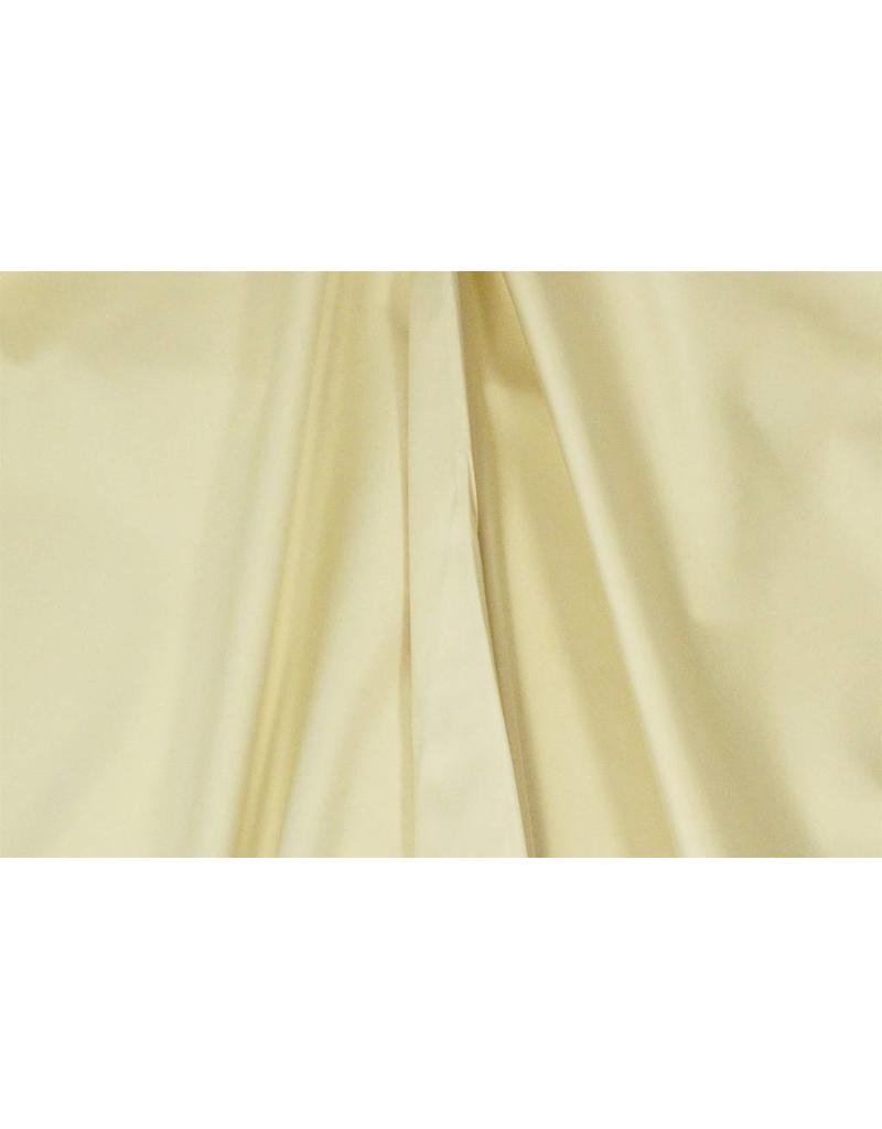 Glänzende Baumwolle Uni S26 - Creme