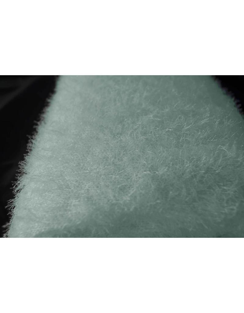 Fluffy Knit B11 - pudergrün