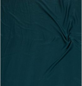 Washed Imitation Silk D009 - petrol