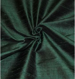 Dupion Silk D5 - dark green