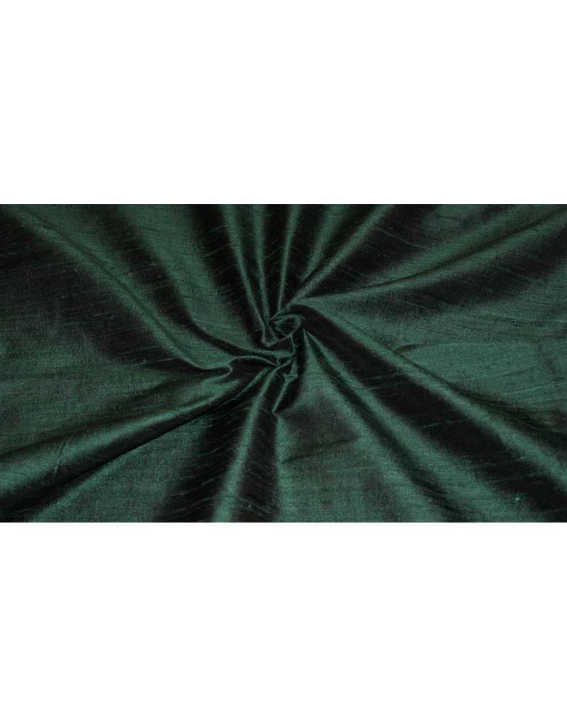 Dupion Zijde D5 - donkergroen