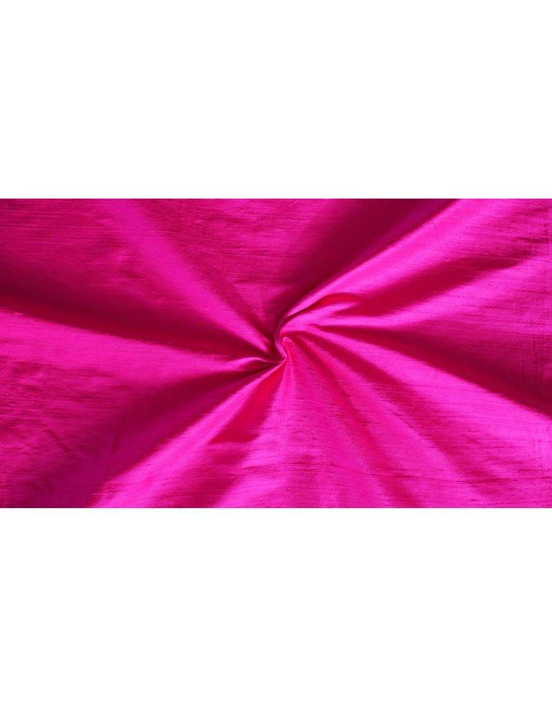 Dupionseide D19 - leuchtend rosa