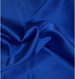 Stretch Seide D14 - kobaltblau