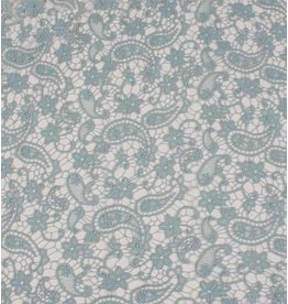 Lace K01 - powder green