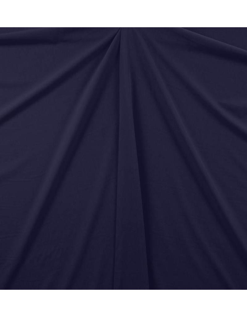 Gabardine Terlenka Stretch (lourd) WT54 - bleu marine