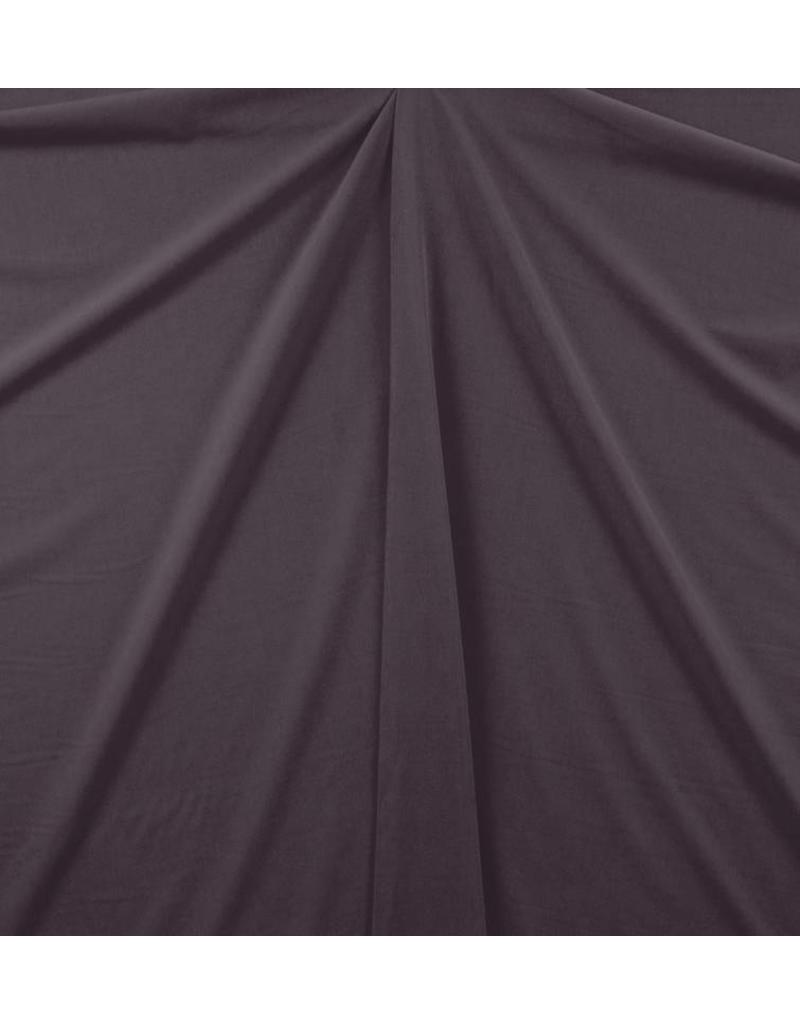 Gabardine Terlenka Stretch (zwaar)  WT58 - aubergine