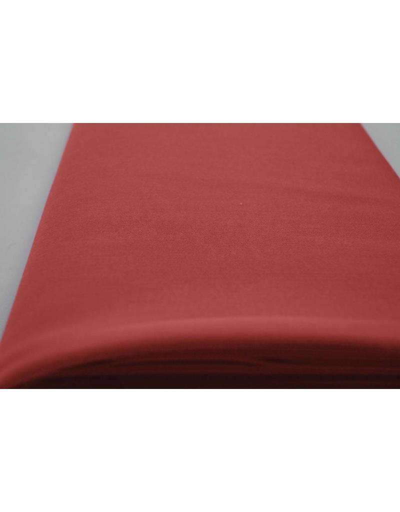 Gabardine Terlenka Stretch (zwaar) WT71 - koraal rood