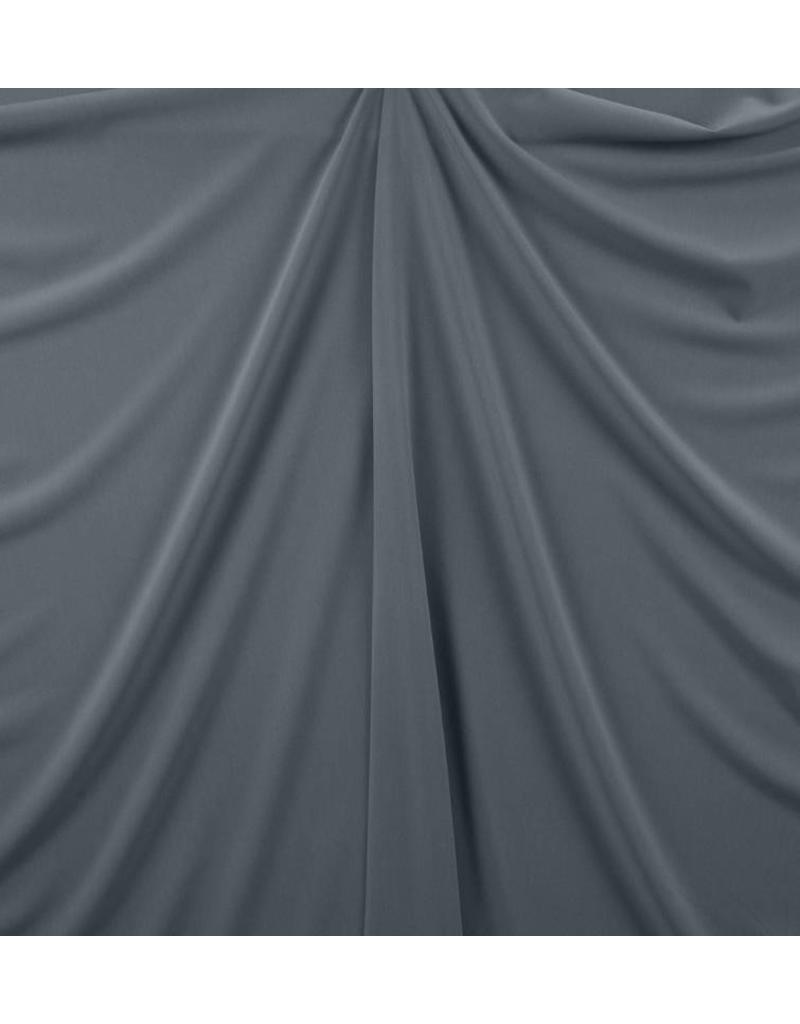 Gabardine Terlenka Stretch (schwer) WT73 - hellgrau / blau