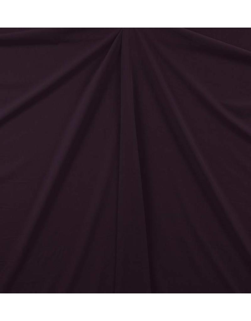 Gabardine Terlenka Stretch (schwer) WT75 - Aubergine
