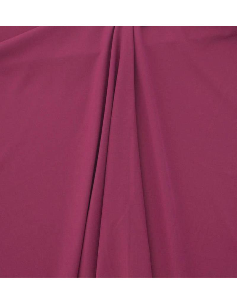 Gabardine Terlenka Stretch (zwaar) WT82 - donker fuchsia
