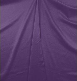 Katoen Satijn Uni 004 - paars - LAST