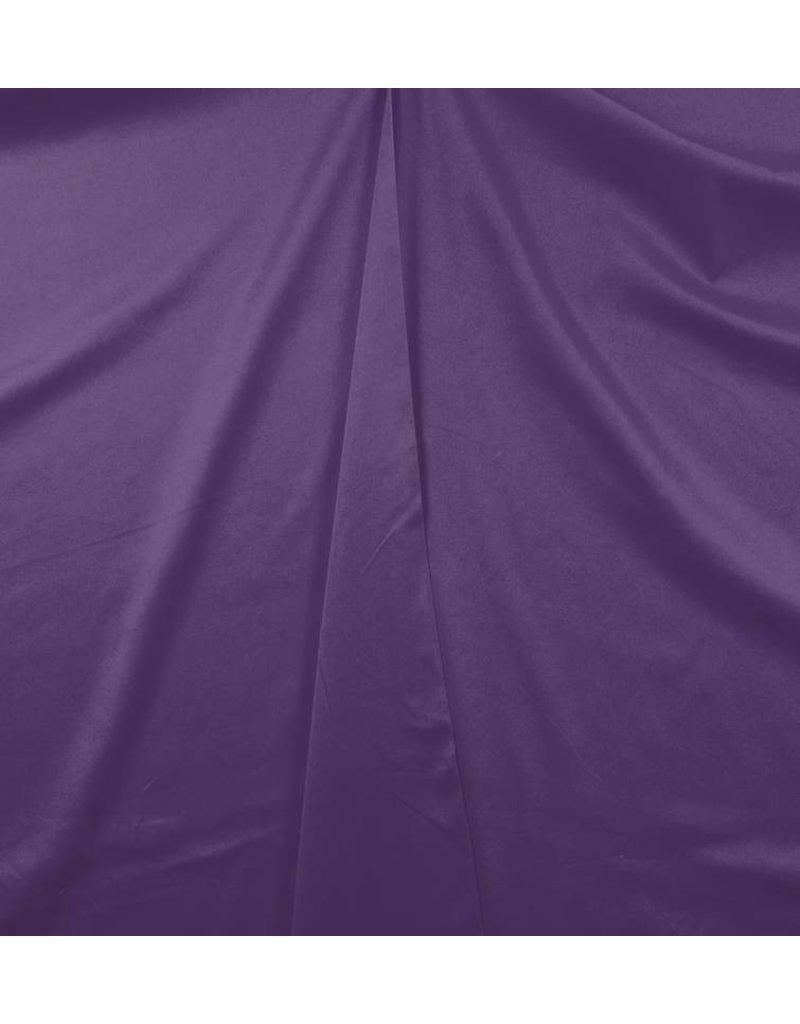 Katoen Satijn Uni 004 - paars