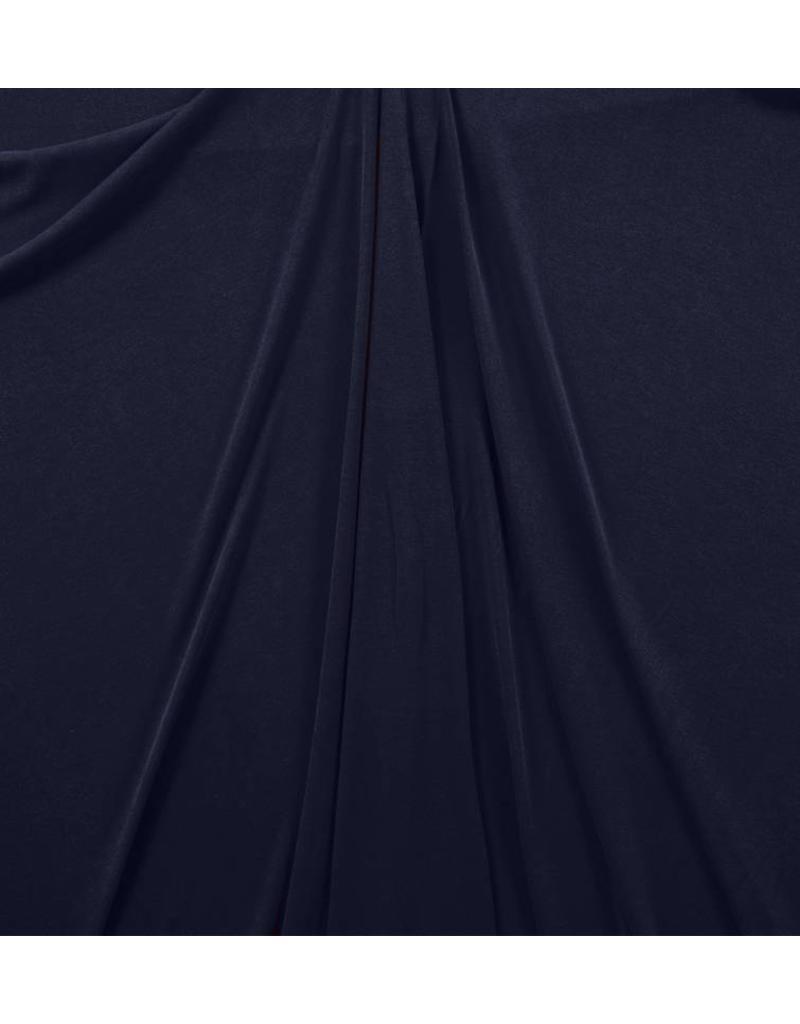 Mousseline Jersey MJ05 - donkerblauw