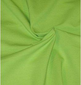 Katoen Jersey V12 - limoen groen