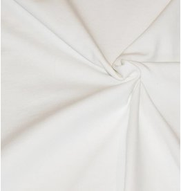 Jersey de coton V6 - blanc cassé