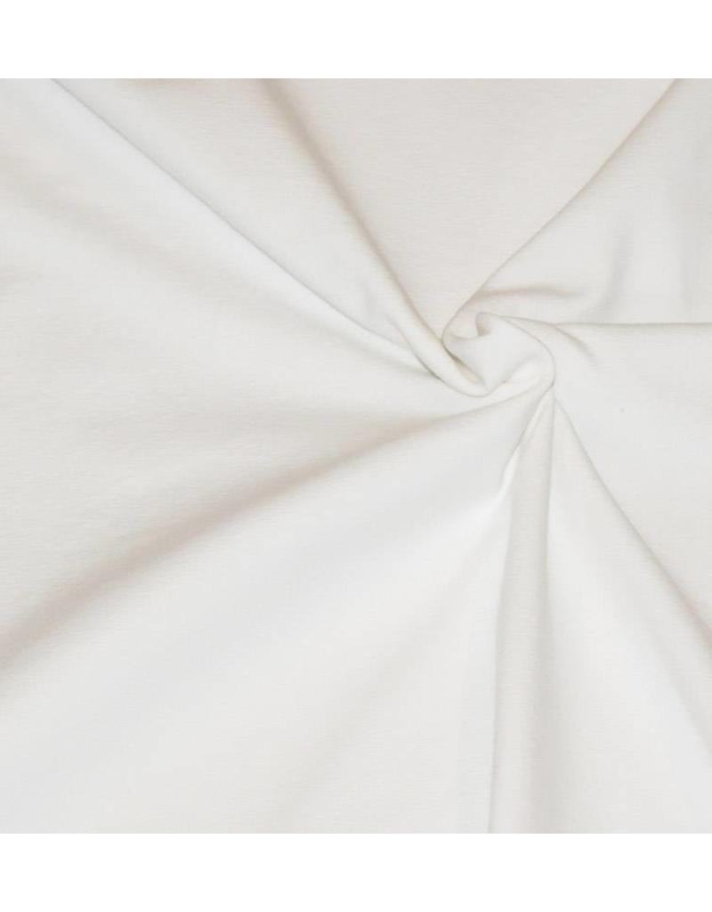 Katoen Jersey V6 - gebroken wit