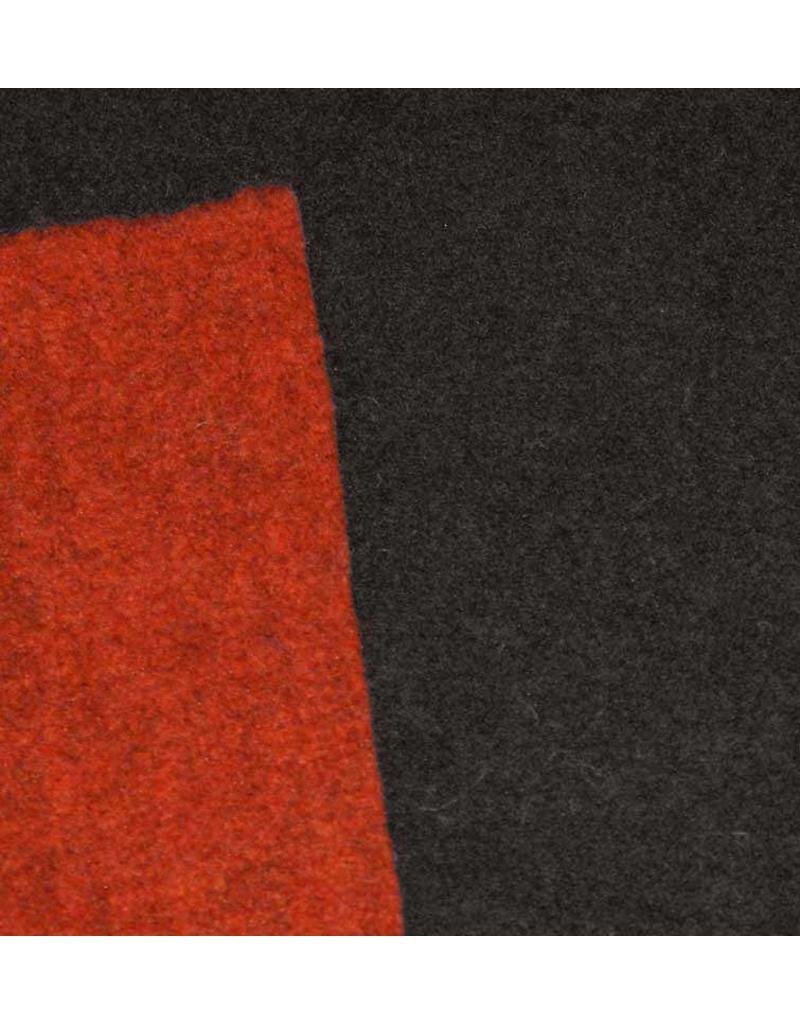 Double Face W8 - bruin / oranje