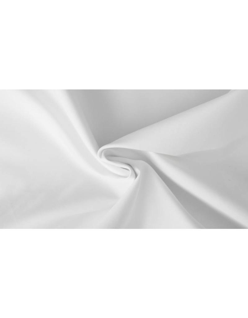 Baumwollsatin Uni 0036 - weiß