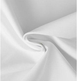 Katoen Satijn Uni 0036 - wit