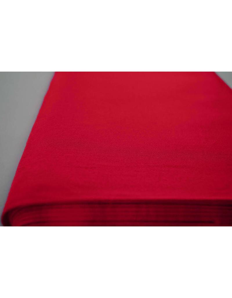 Baumwollsatin Uni 0018  - Knall Rot