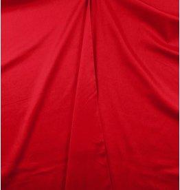 Coton Satin Uni 0018 - rouge vif