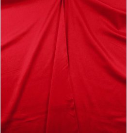 Cotton Satin Uni 0018 - bright red
