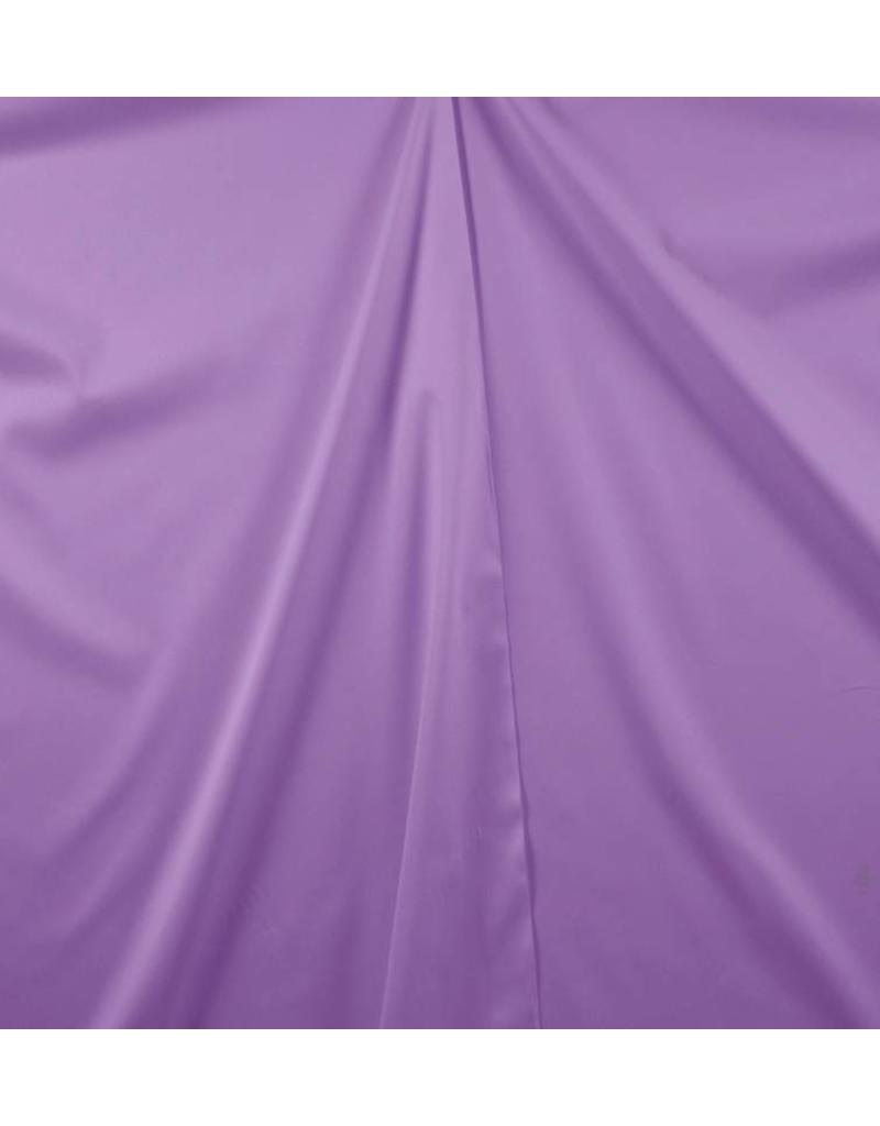Katoen Satijn Uni 0033 - donker lila