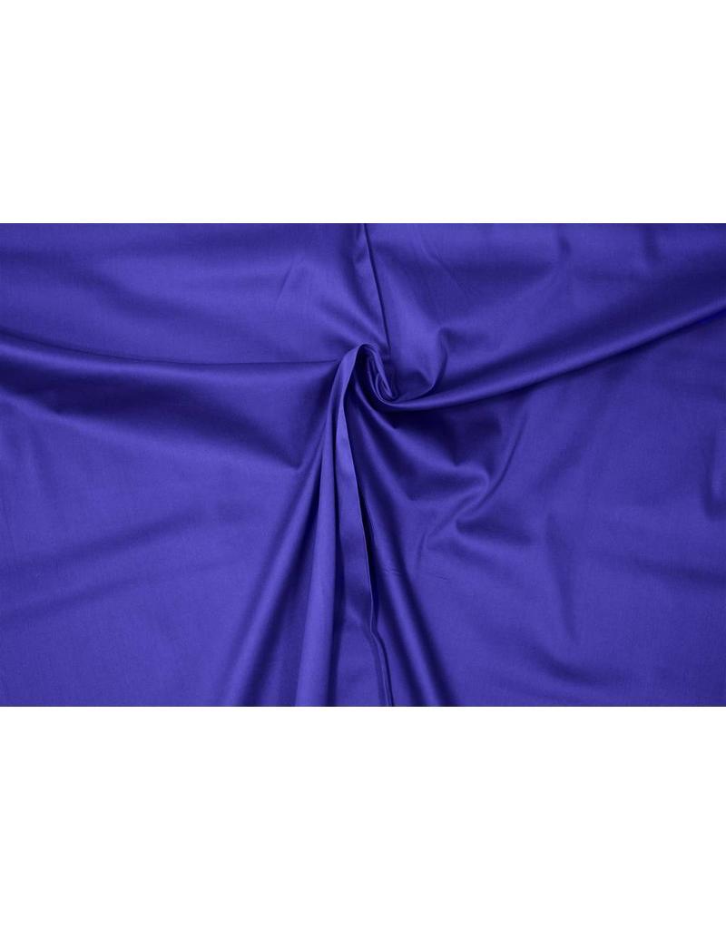 Cotton Satin Uni 0051 - cobalt