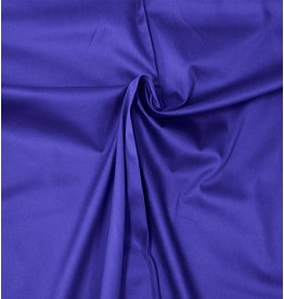 Cotton Satin Uni 0051 - cobalt