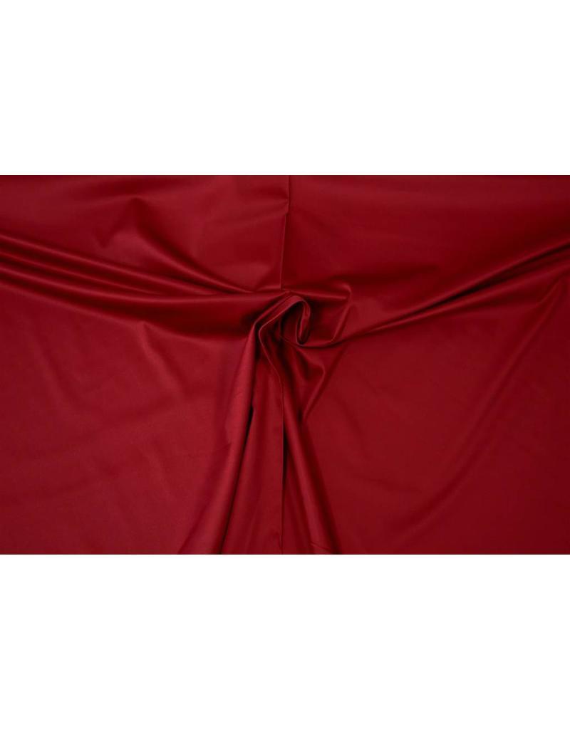 Satin Cotton Uni 0053 - dark red