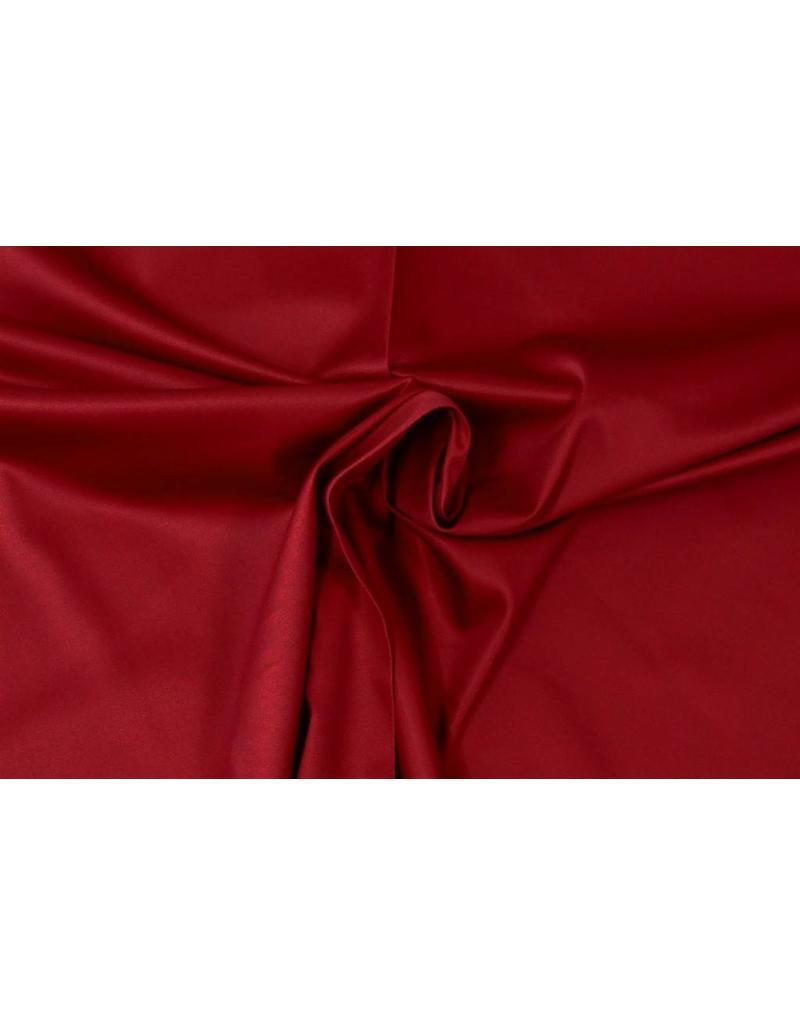Coton Satin Uni 0053 - rouge foncé