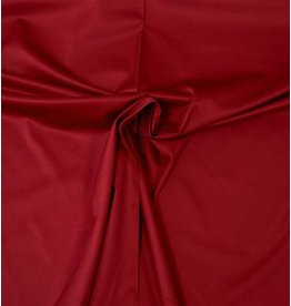 Satin Cotton Uni 0053 - dark red