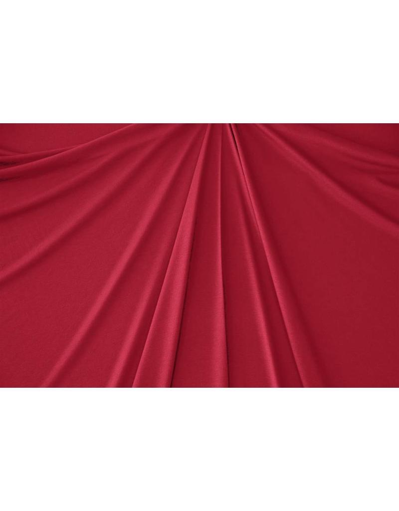 Viscose Jersey V74 - rouge foncé