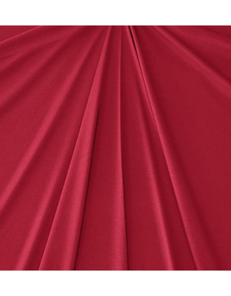 Viscose Jersey V74 - dark red